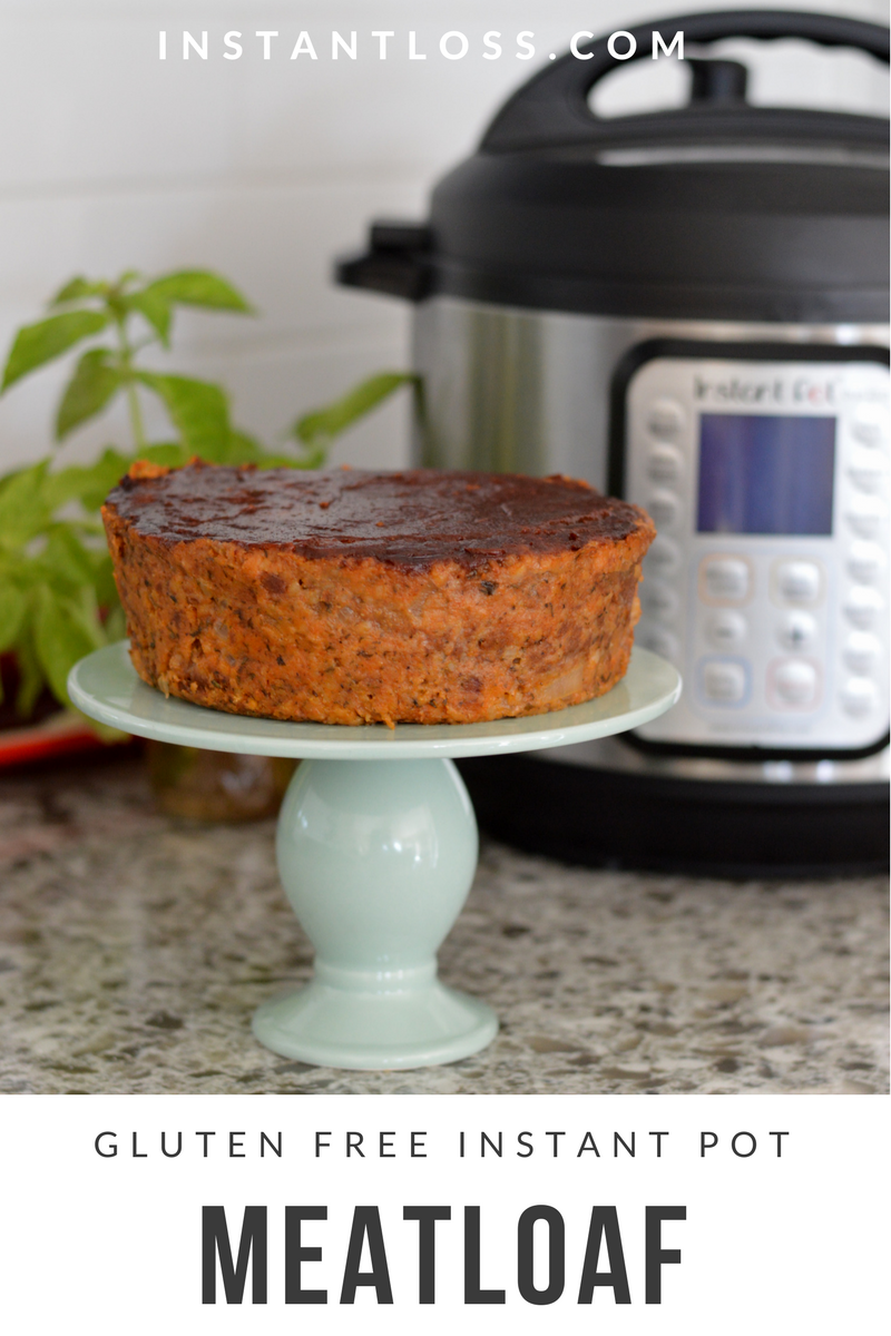 Gluten Free Instant Pot Meat Loaf Instant Loss