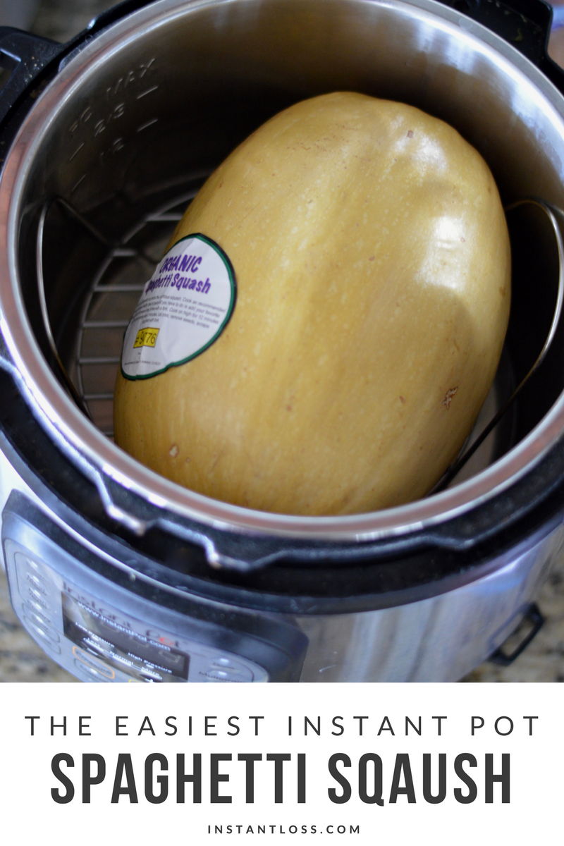 The Easiest Instant Pot Spaghetti Squash Instant Loss Conveniently Cook Your Way To Weight Loss