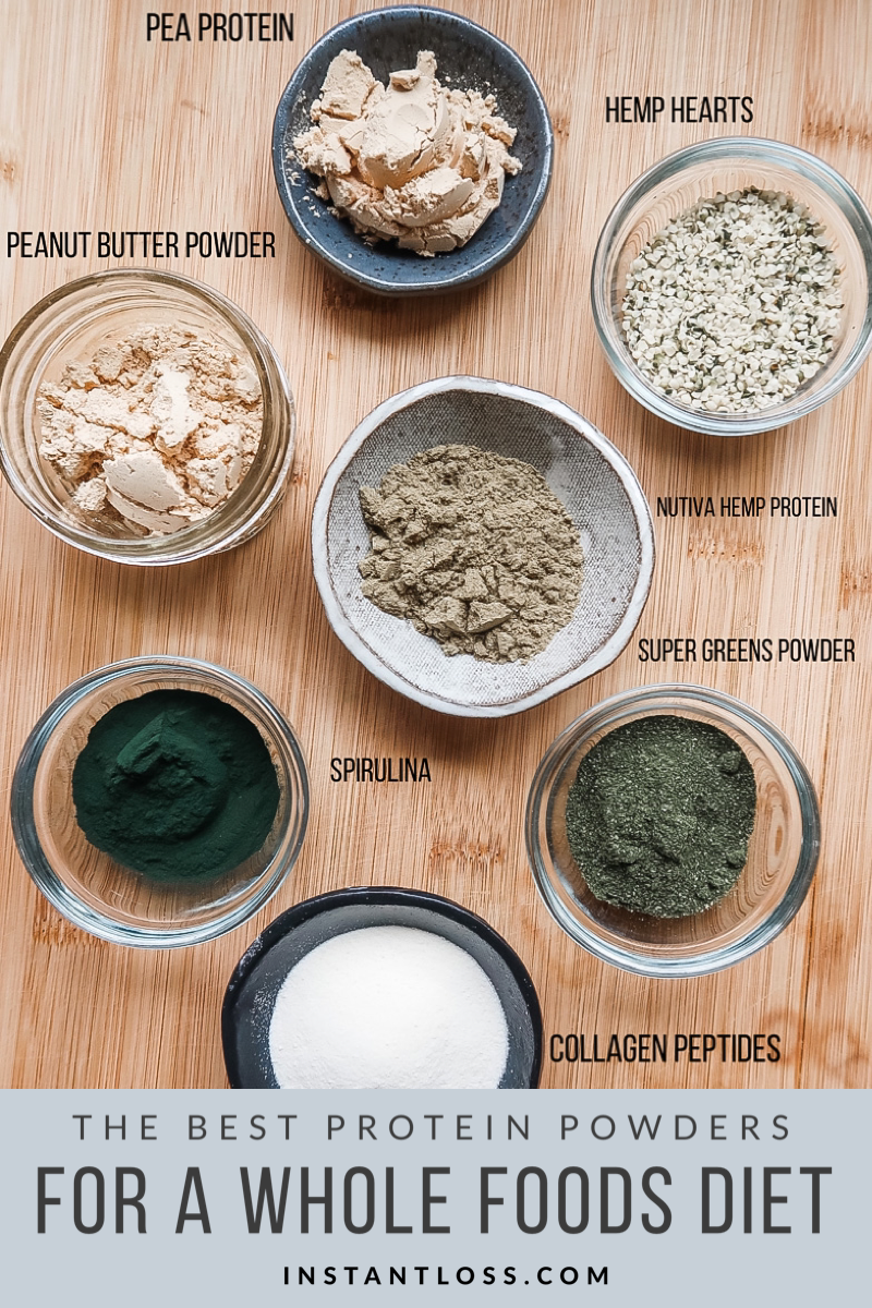 The Best Protein Powders For A Whole Food Diet Instant Loss Conveniently Cook Your Way To Weight Loss